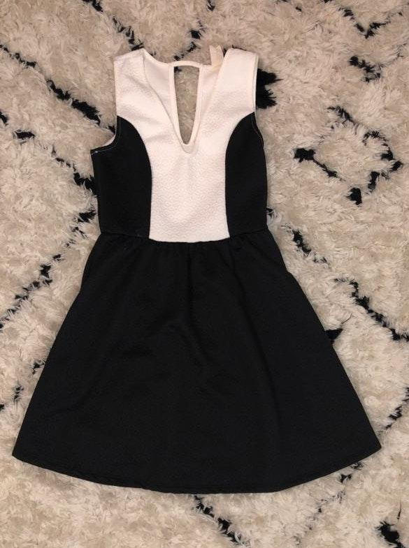 f4efbab506f Francesca s Black And White Dress