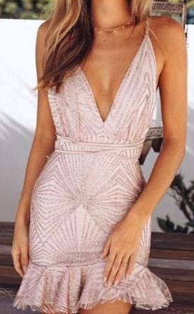 Hello Molly Sequin Party Dress