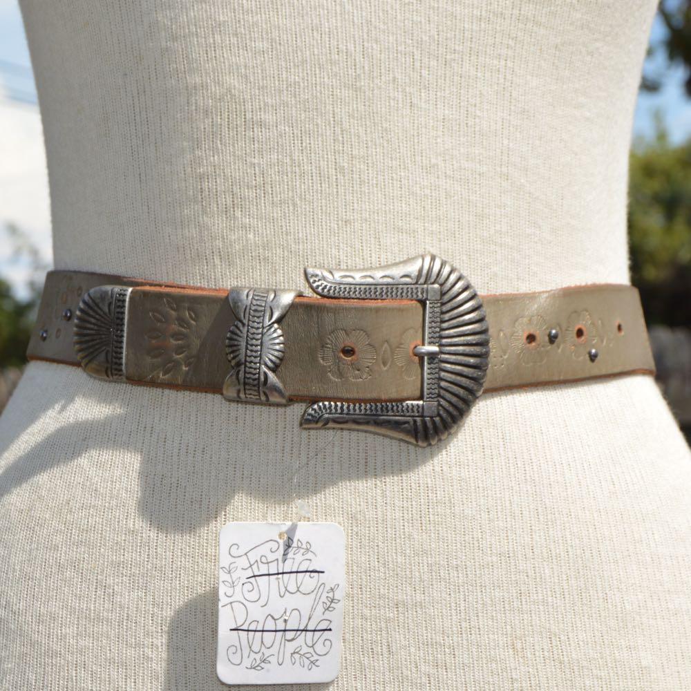 Free People Genuine Leather Belt
