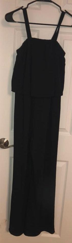 Von Maur Black Jumpsuit