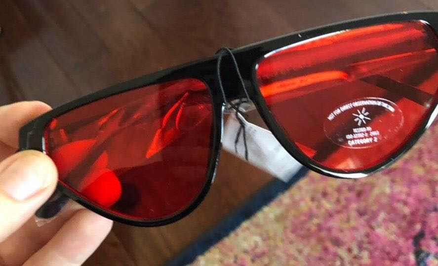 Princess Polly Red Lensed Sunglasses