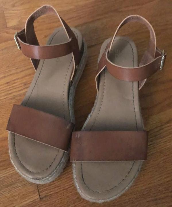 Amazon Platform Strap Sandal