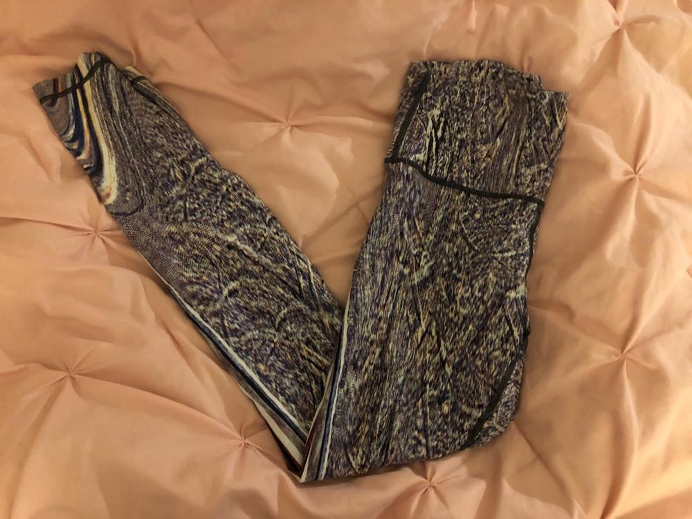 4627be0de We re the buy sell app for cute clothes. Say to being bored of your  clothes. Home Lululemon Snake Skin Lulu Leggings!