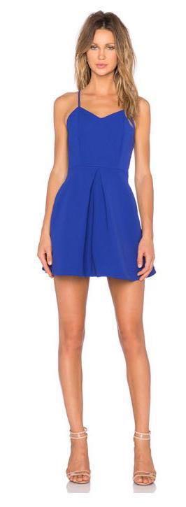 Keepsake Blue Dress