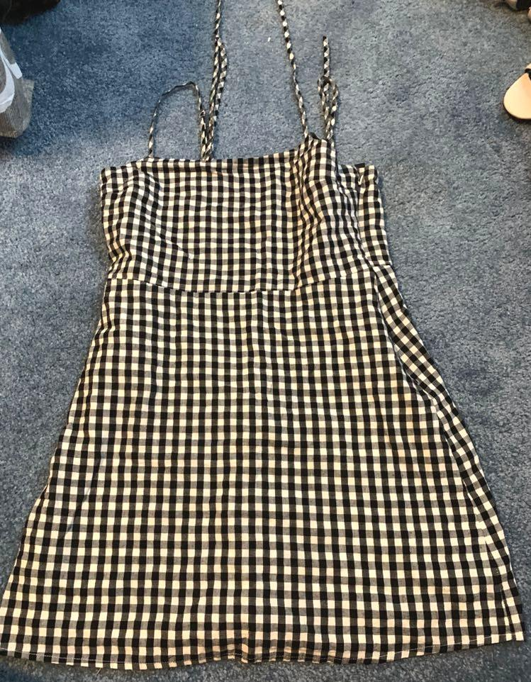 Lulus gingham mini dress
