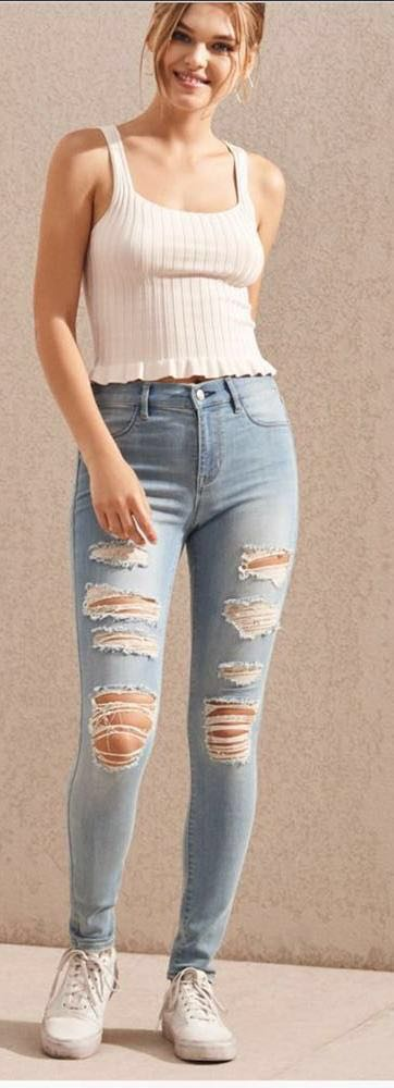 d859a04d2cd3f Pacsun Mae Blue Perfect Fit Jeggings | Curtsy