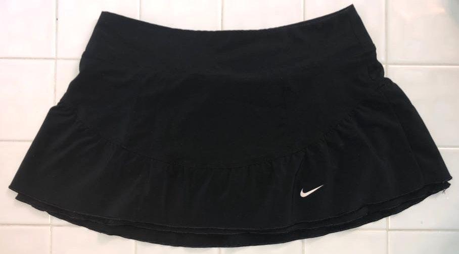 Nike Black Ruffle Tennis Skirt