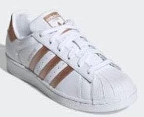 on sale 2f69e 66eb3 Adidas Superstar Rose Gold Sneakers