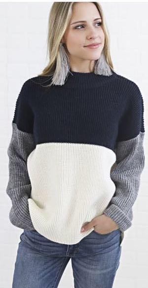 Riff Raff colorblock sweater
