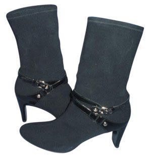 Stuart Weitzman Black Ankle Booties