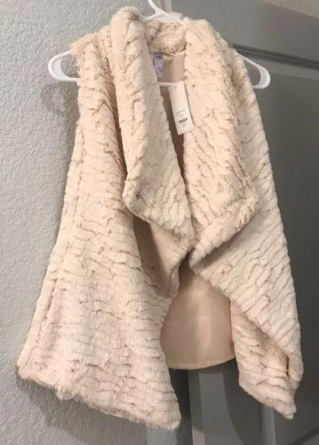 Francesca's Fur Vest