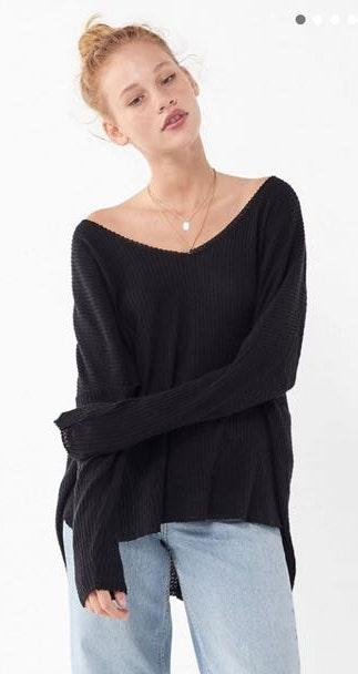 Urban Outfitters Out From Under Cozy Thermal V-neck
