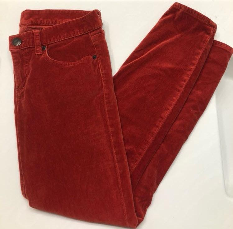 J.Crew J. Crew Red Tooth Pick pants