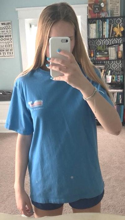 Blue Vineyard Vines Shirt