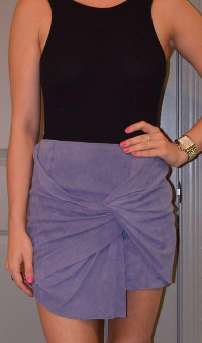 Neiman Marcus Cusp by  Purple Skirt