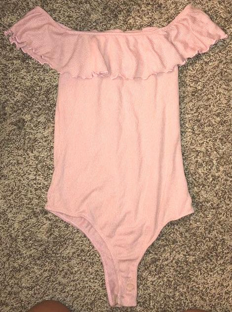 Pacsun Baby pink body suit