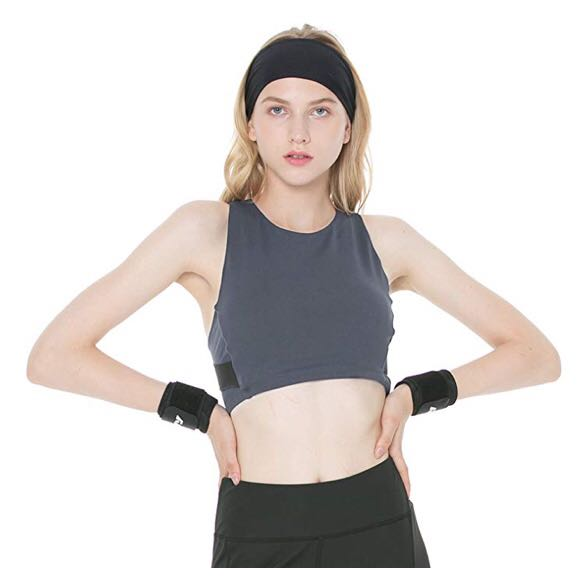 Amazon Criss Cross Sports Bra Nwt