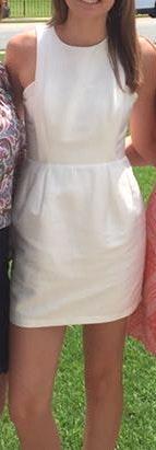 DO+BE White Mini Dress