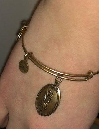 ALEX AND ANI Pineapple Bracelet