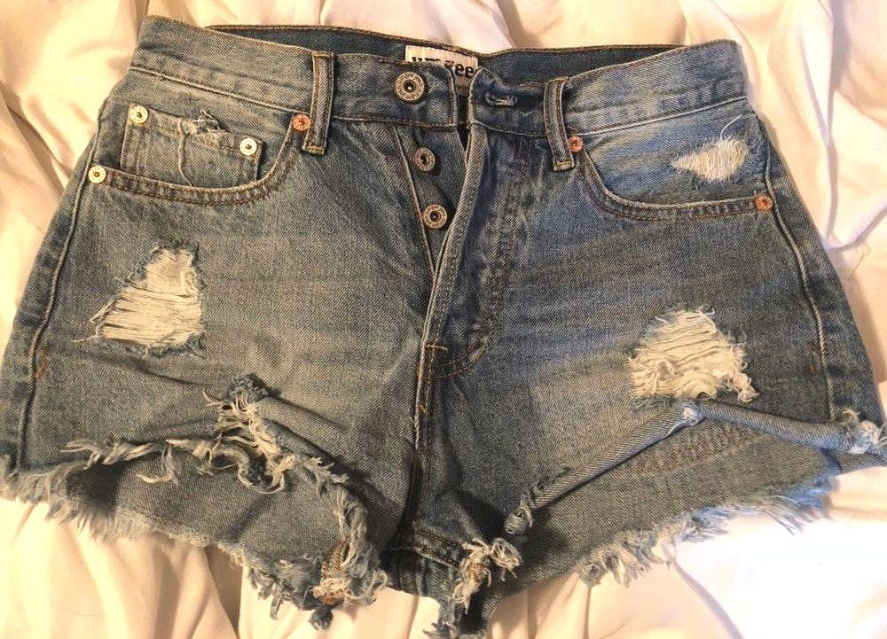 Umgee Denim Booty Shorts