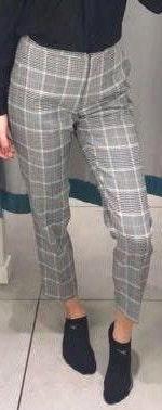 H&M Black and white pants (dress pants)