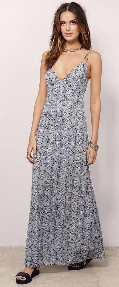 Tobi Snake Skin Formal Dress