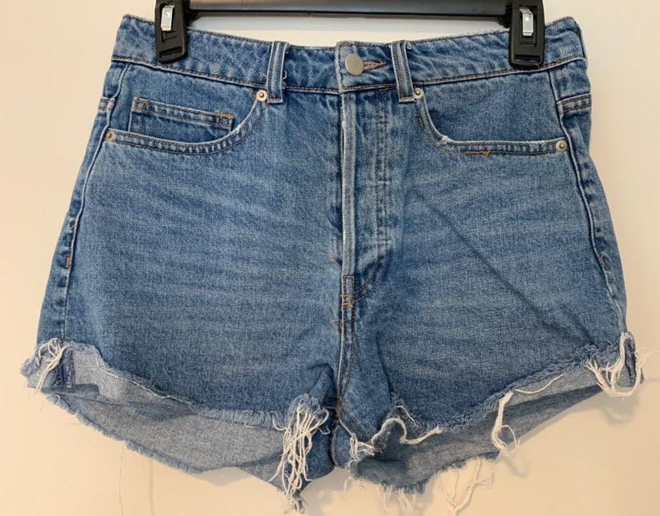 H&M Festival Denim Shorts