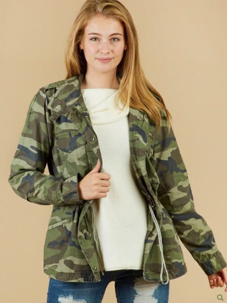 Altar'd State Camo Utility Jacket