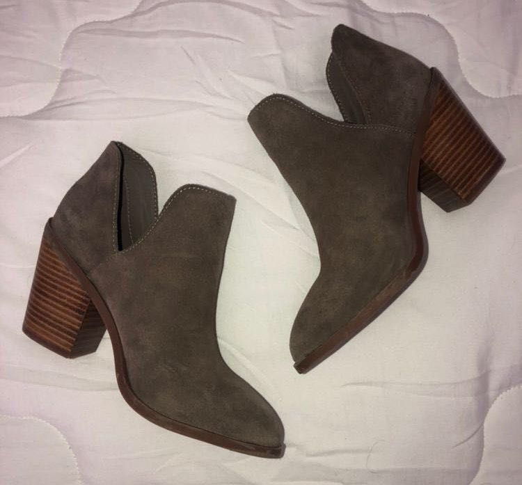 Steve Madden Perfect Suede  Booties