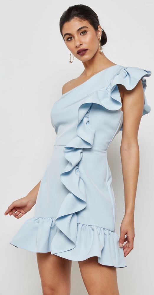 Jarlo London Ruffle Dress