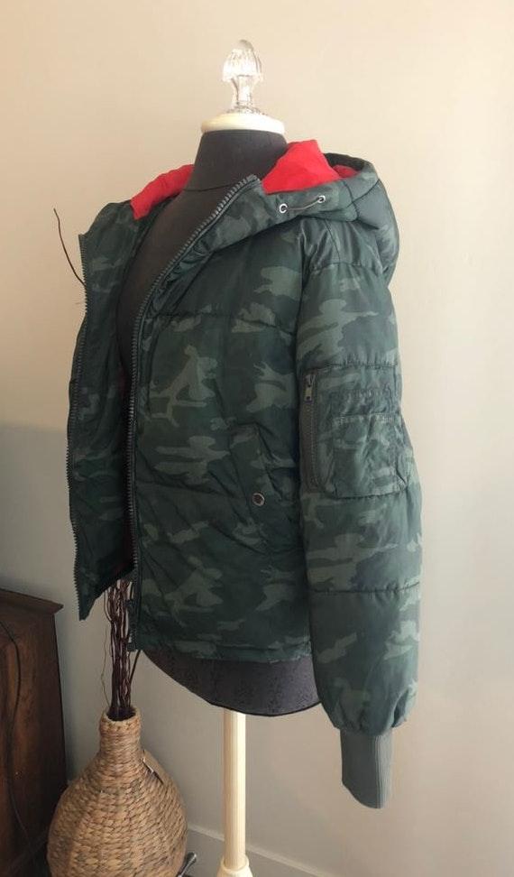 Istay Camo Winter Jacket Size XS