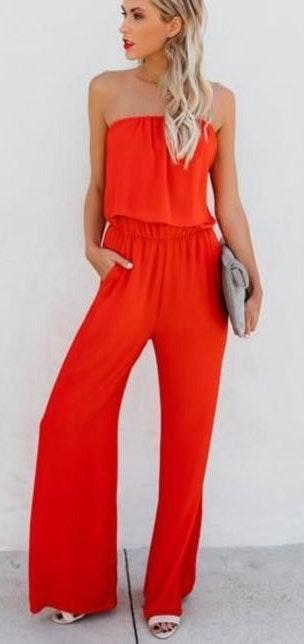 VICI red jumpsuit