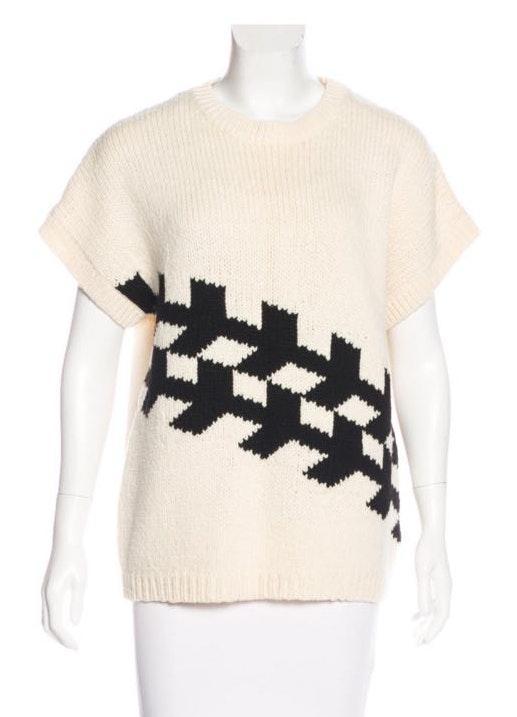 Tibi Arrow Sweater