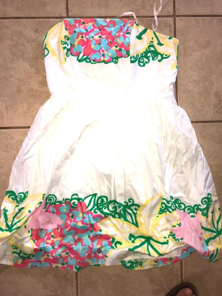 Lilly Pulitzer Size 6 Dress Only Worn For Graduation.
