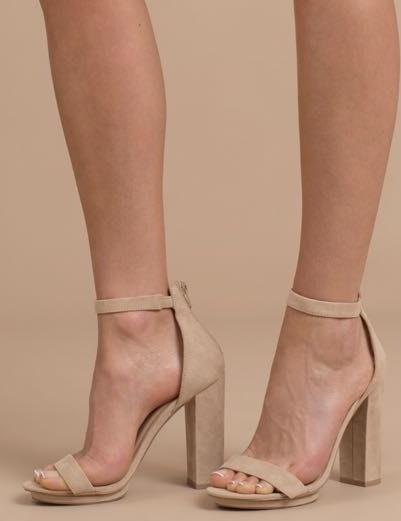 Tobi Ankle Strap Heels