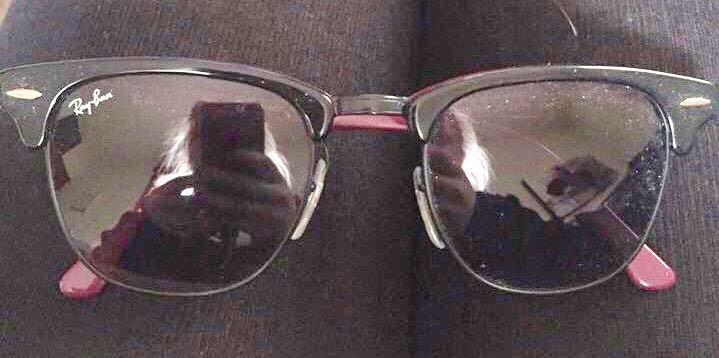 Ray-Ban Black Clubmaster Sunglasses