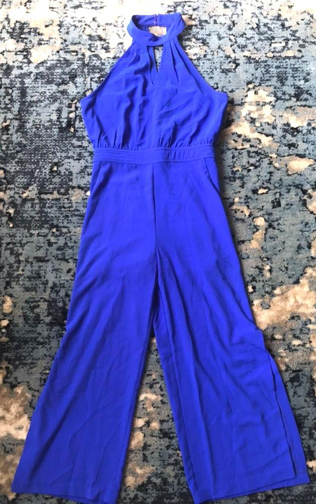 Lulus Royal Blue Jumpsuit