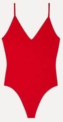 Aritzia Red Emily Bodysuit