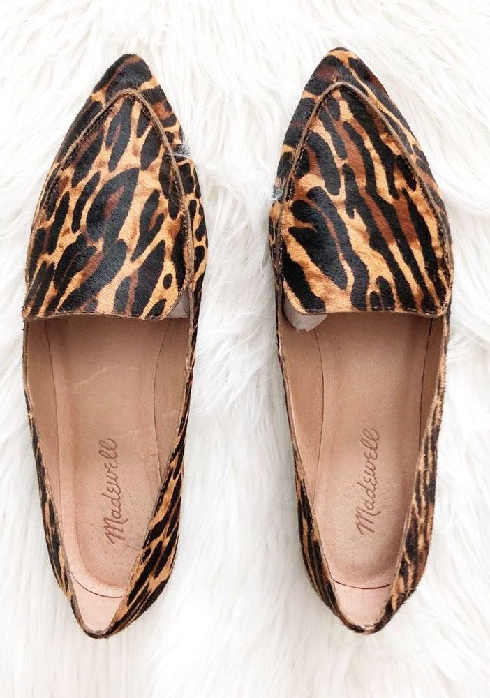 2e1c9cb6804 We re the buy sell app for cute clothes. Say to being bored of your  clothes. Home Madewell Calf Hair Leopard Loafers