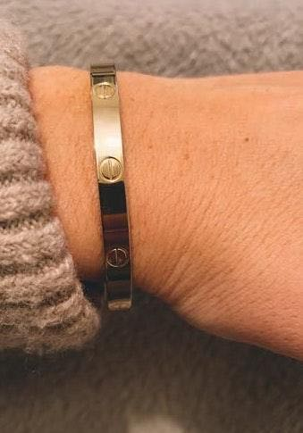Boutique Love Gold Bangle (look Alike)