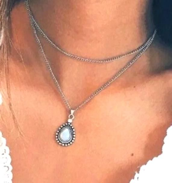 Boutique Boho Layered Necklace