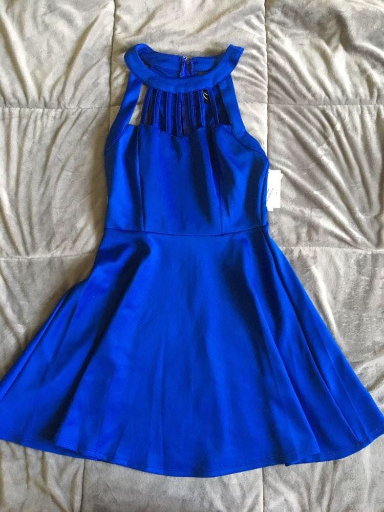 Trixxi Royal Blue Dress