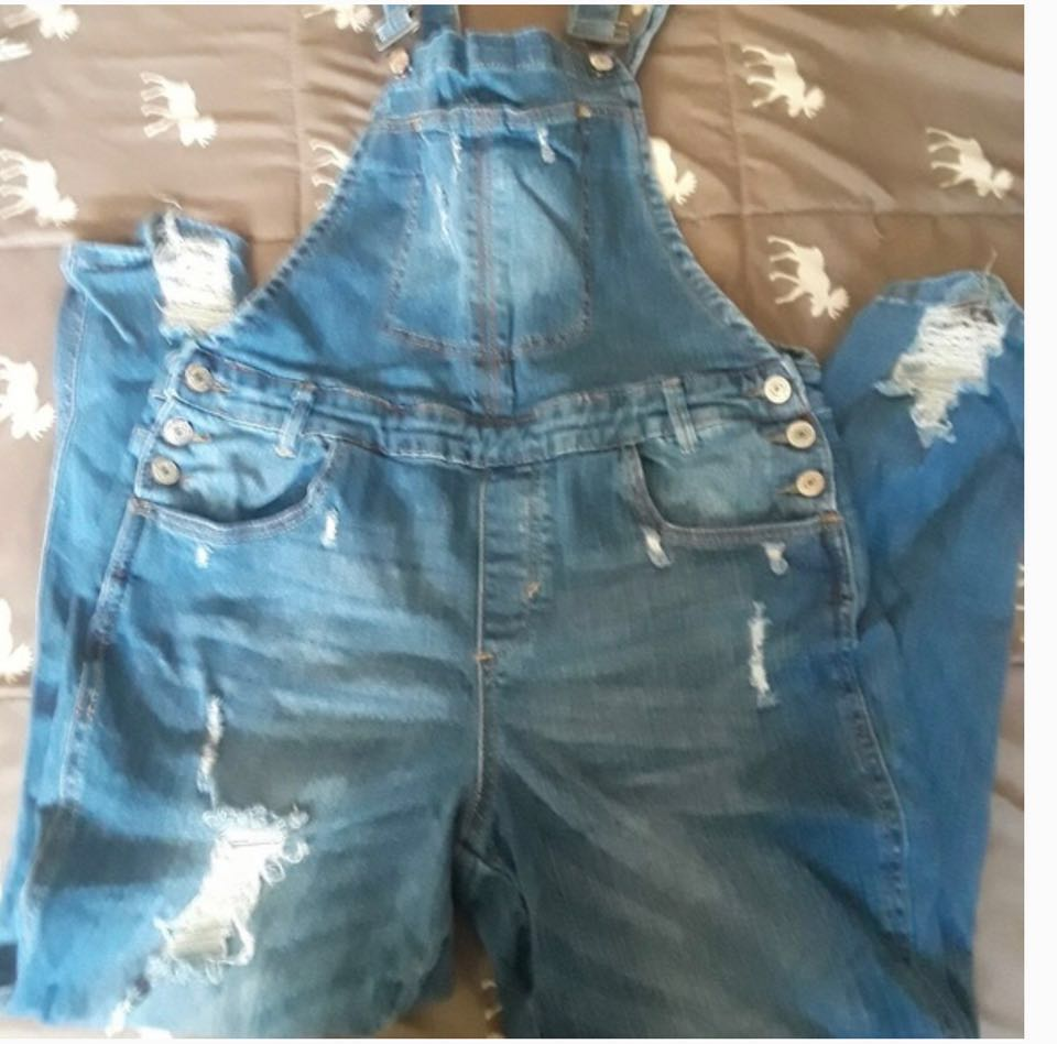 Almost Famous Jean Overalls