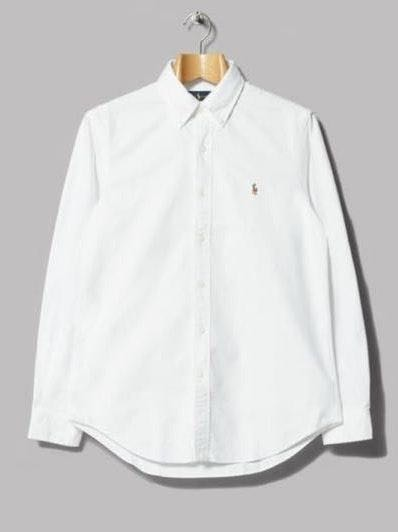 White Button Down Ralph Lauren Shirt