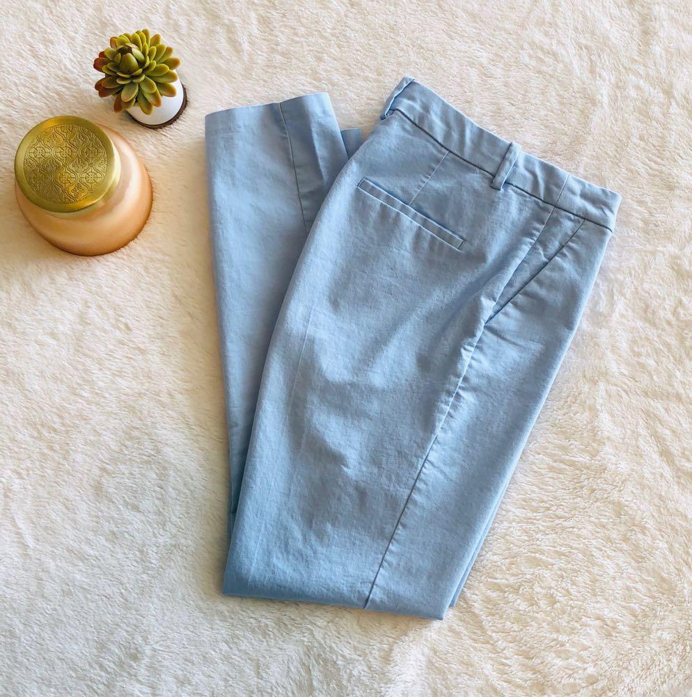H&M Light Blue Slacks