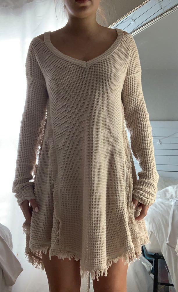 E Leigh's Cream Sweater