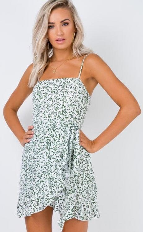 Princess Polly Olive Garden Mini Dress