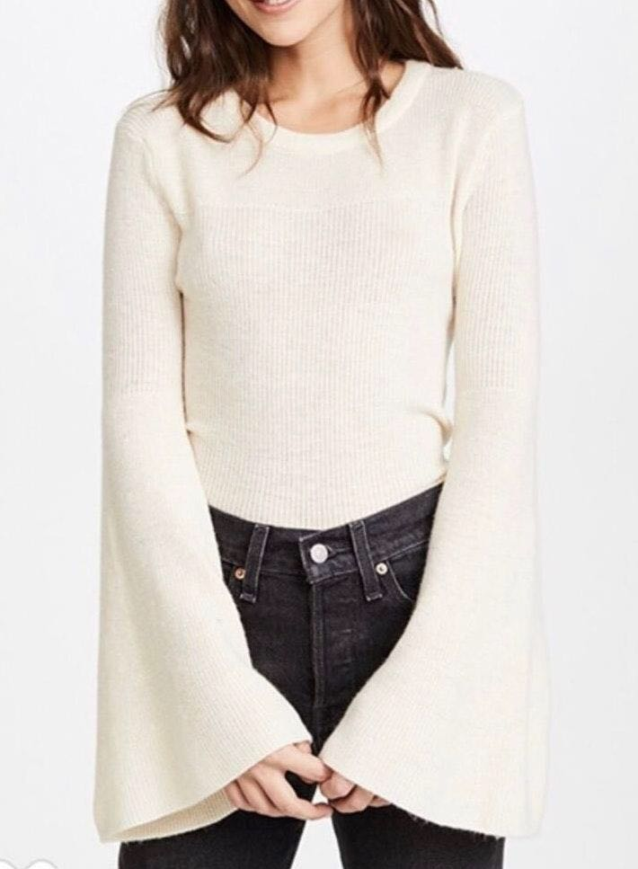J.O.A bell sleeved sweater