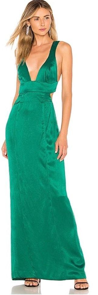 NBD Emerald Green Formal Dress