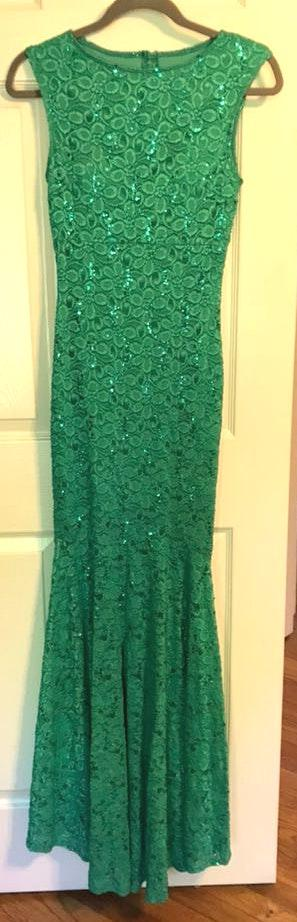 Tawny Green Formal Dress
